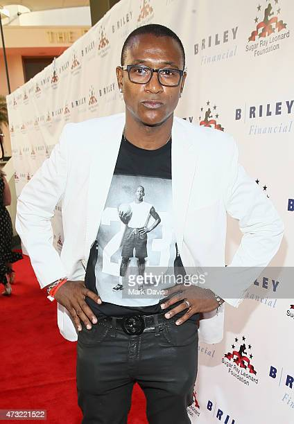 Comedian Tommy Davidson attends B Riley Co And Sugar Ray Leonard Foundation's 6th Annual Big Fighters Big Cause Charity Boxing Night at The Ray Dolby...