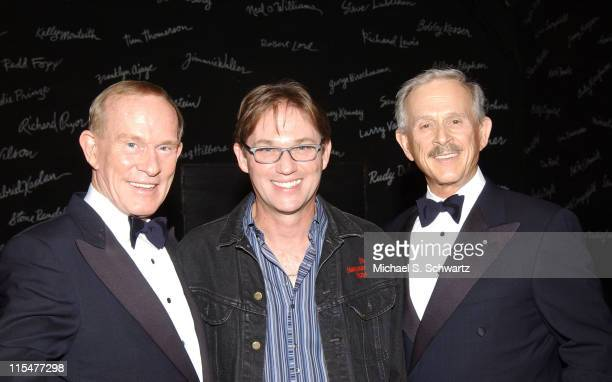 Comedian Tommy Smothers Actor Richard Thomas and Comedian Dick Smothers