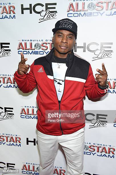 Comedian Tony Roberts attends the HCE Live presents Shaquille O'Neal All Star Comedy Jam at Cobb Energy Center on October 10 2014 in Atlanta Georgia