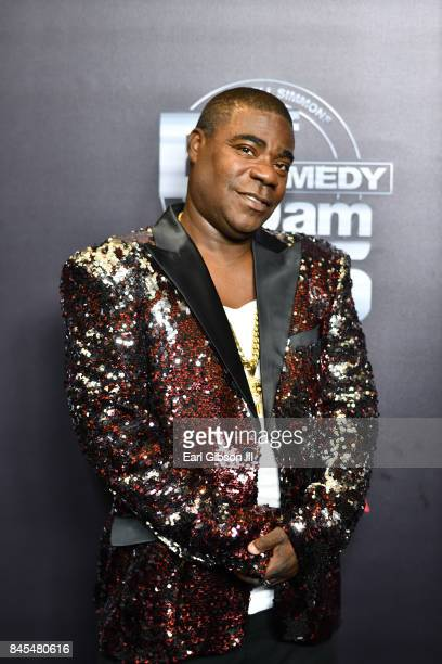 Comedian Tracy Morgan attends Netflix Presents Russell Simmons 'Def Comedy Jam 25' Special Event at The Beverly Hilton Hotel on September 10 2017 in...
