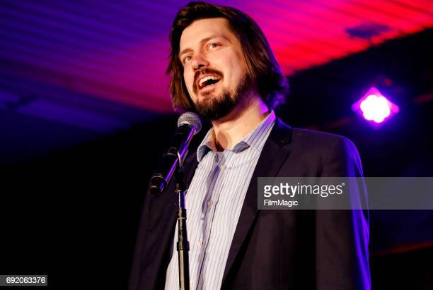 Comedian Trevor Moore performs onstage at Room 415 Comedy Club during Colossal Clusterfest at Civic Center Plaza and The Bill Graham Civic Auditorium...