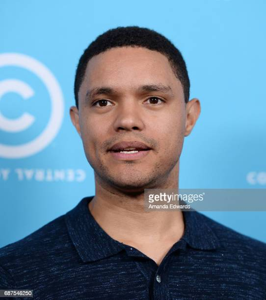 Comedian Trevor Noah attends Comedy Central's LA Press Day at the Viacom Building on May 23 2017 in Los Angeles California