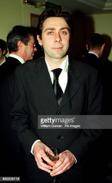 Comedian tv personality and author Sean Hughes at the 11th annual British Book Awards 1999 at the Hilton Hotel in London's Park Lane