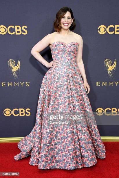 Comedian Vanessa Bayer attends the 69th Annual Primetime Emmy Awards at Microsoft Theater on September 17 2017 in Los Angeles California