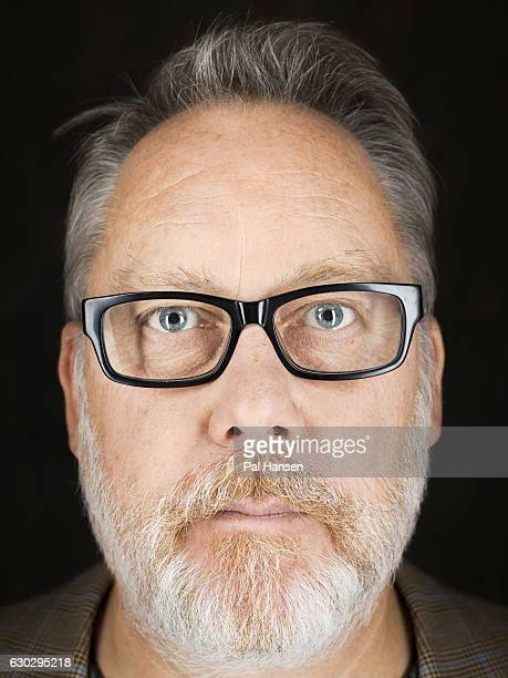 Comedian Vic Reeves is photographed for the Observer on September 30 2016 in London England