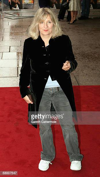 Comedian Victoria Woods arrives at the UK premiere for The League Of Gentlemen's Apocalypse at Vue Leicester Square on June 1 2005 in London England
