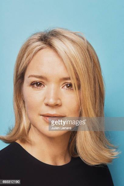 Comedian Virginie Efira is photographed for Self Assignment on February 2 2017 in Paris France