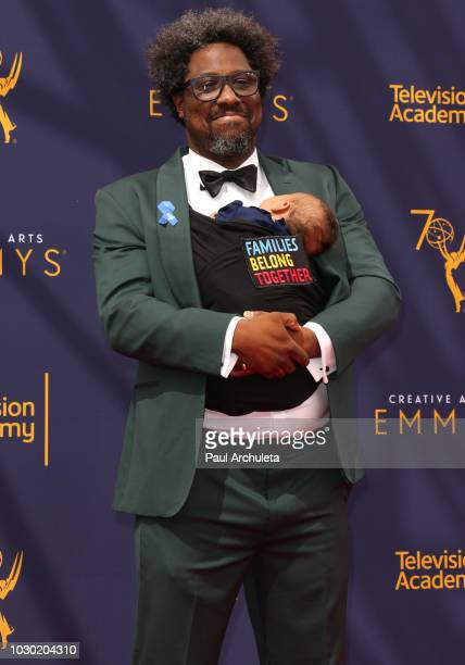 Comedian W Kamau Bell attends the 2018 Creative Arts Emmy Awards Day 2 at the Microsoft Theater on September 9 2018 in Los Angeles California