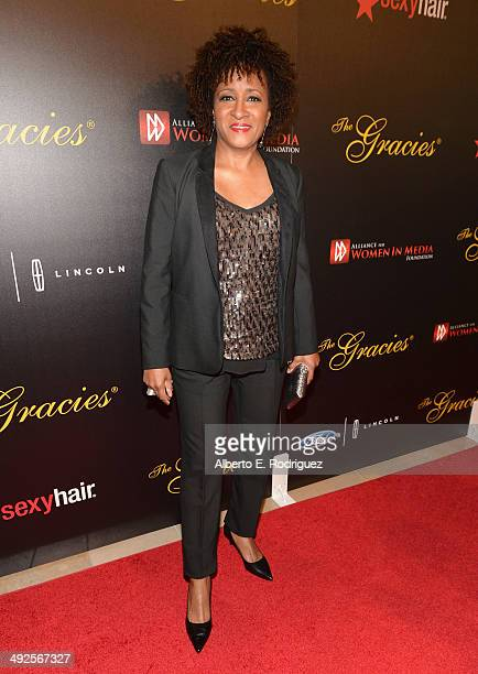 Comedian Wanda Sykes arrives to the 39th Gracie Awards Gala at The Beverly Hilton Hotel on May 20 2014 in Beverly Hills California