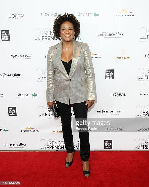 Comedian Wanda Sykes attends '3 Hearts' New York Premiere at Alice Tully Hall on March 6 2015 in New York City