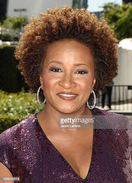 Comedian Wanda Sykes attends the 2010 Creative Arts Emmy Awards at Nokia Plaza LA LIVE on August 21 2010 in Los Angeles California