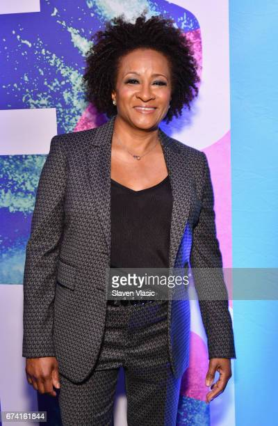 Comedian Wanda Sykes attends the 2017 BET Upfront NY at PlayStation Theater on April 27 2017 in New York City