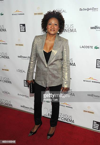 Comedian Wanda Sykes attends the 3 Hearts New York premiere at Alice Tully Hall on March 6 2015 in New York City