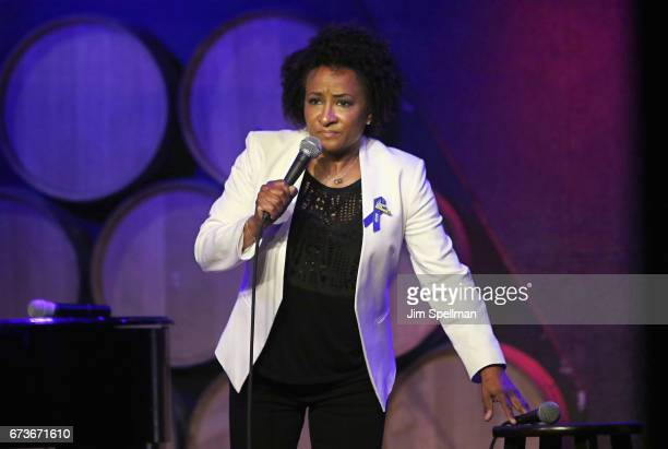 Comedian Wanda Sykes attends the Aasif Mandvi Friends AllStar Deportation Jamboree at City Winery on April 26 2017 in New York City