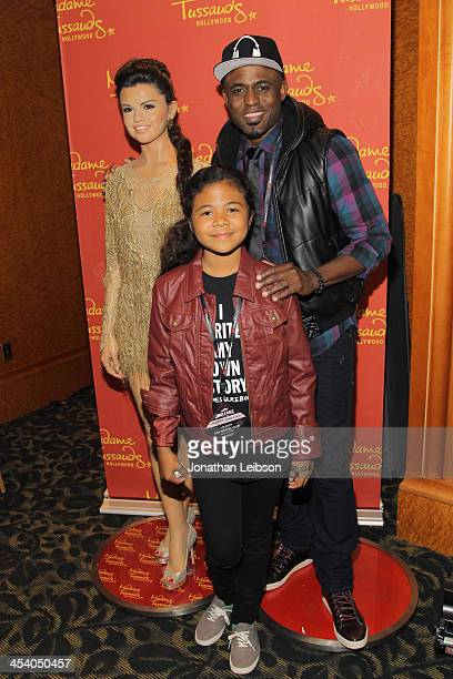 Comedian Wayne Brady and Maile Masako Brady attend KIIS FM's Jingle Ball 2013 gift suite at Staples Center on December 6 2013 in Los Angeles CA