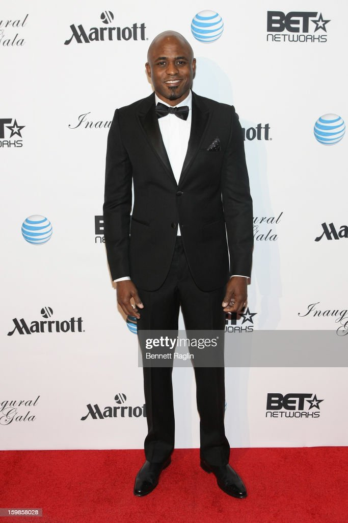 Comedian Wayne Brady attends the Inaugural Ball hosted by BET Networks at Smithsonian American Art Museum & National Portrait Gallery on January 21, 2013 in Washington, DC.