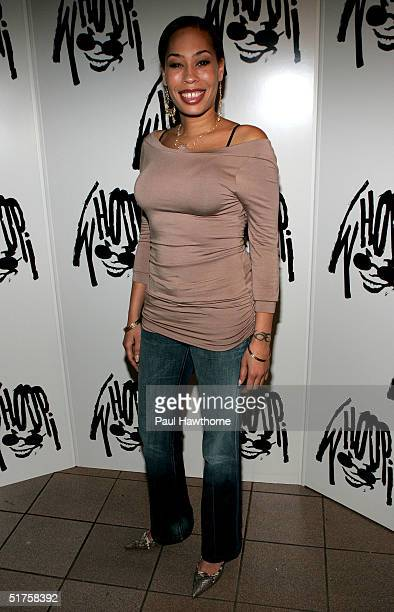 Comedian Whoopi Goldberg's daughter actress Alex Martin attends the opening of Whoopi after party at the China Club November 17 2004 in New York City