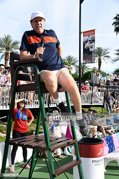 Comedian Will Ferrell attends the 11th Annual Desert Smash Hosted By Will Ferrell Benefiting Cancer For College at La Quinta Resort and Club on March...