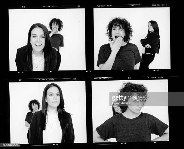 Comedian writer actresses lana Glazer and Abbi Jacobson are photographed for The Wrap on June 1 2016 in Los Angeles California