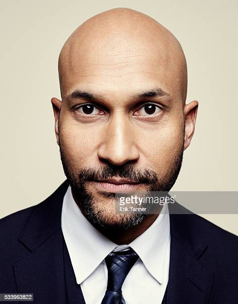 Comedian writer and actor KeeganMichael Key poses for a portrait at the 75th Annual Peabody Awards Ceremony at Cipriani Wall Street on May 21 2016 in...