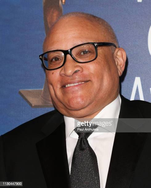Comedian / Writer Larry Wilmore attends the 2019 Writers Guild Awards LA ceremony at The Beverly Hilton Hotel on February 17 2019 in Beverly Hills...