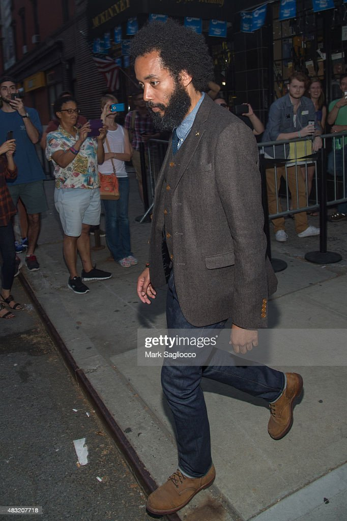 Comedian Wyatt Cenac attends the final 'The Daily Show With Jon Stewart' on August 6, 2015 in New York City.
