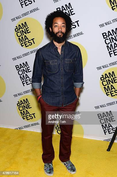 Comedian Wyatt Cenac attends the Tangerine closing night premiere during BAMcinemaFest 2015 at BAM Peter Jay Sharp Building on June 28 2015 in New...