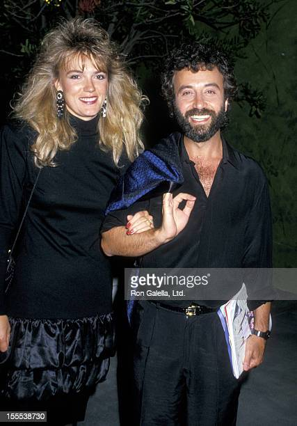 Comedian Yakov Smirnoff and wife Linda Dreeszen attend Fifth Annual MTV Video Music Awards on September 7 1988 at the Universal Ampitheater in...