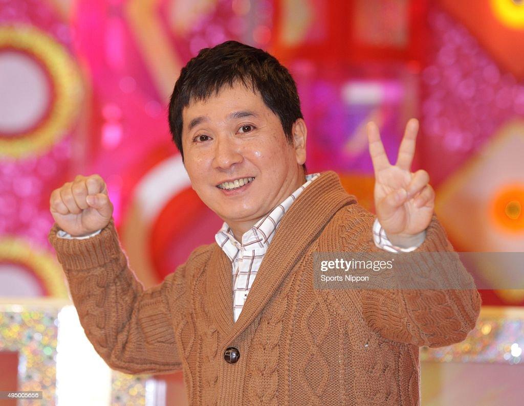 Yuji Tanaka Attends Press Conference In Tokyo : ニュース写真