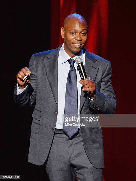 Comedian/acto rDave Chappelle performs at Radio City Music Hall on June 19 2014 in New York City