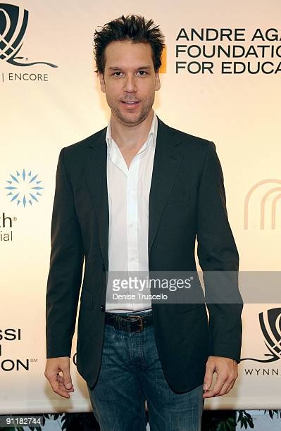 Comedian/actor Dane Cook arrives at the 14th annual Andre Agassi Foundation for Education's Grand Slam for Children benefit concert at Wynn Las Vegas...
