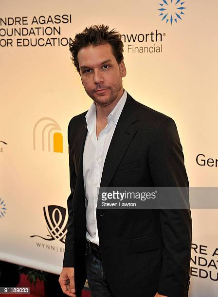 Comedian/actor Dane Cook arrives at the 14th annual Andre Agassi Charitable Foundation's Grand Slam for Children benefit concert at the Wynn Las...