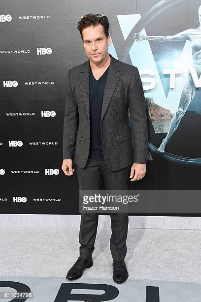Comedian/actor Dane Cook attends the premiere of HBO's Westworld at TCL Chinese Theatre on September 28 2016 in Hollywood California