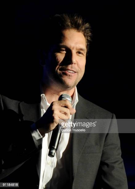 Comedian/actor Dane Cook performs during the 14th annual Andre Agassi Foundation for Education's Grand Slam for Children benefit concert at Wynn Las...
