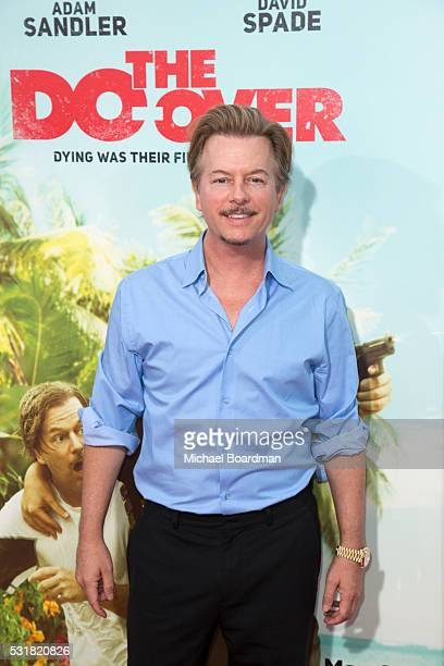 Comedian/Actor David Spade attends the Premiere of Netflix's The Do Over at the Regal LA Live Stadium 14 on May 16 2016 in Los Angeles California