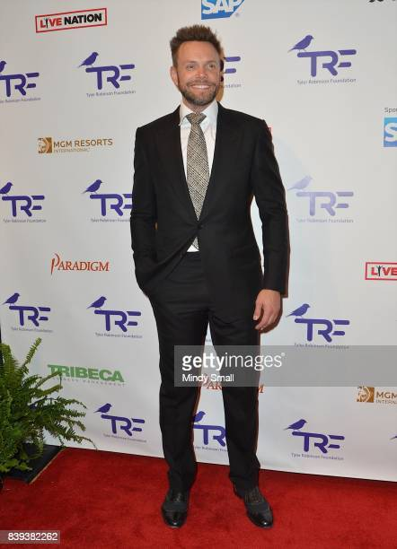 Comedian/actor Joel McHale attends the fourth annual Tyler Robinson Foundation gala benefiting families affected by pediatric cancer at Caesars...