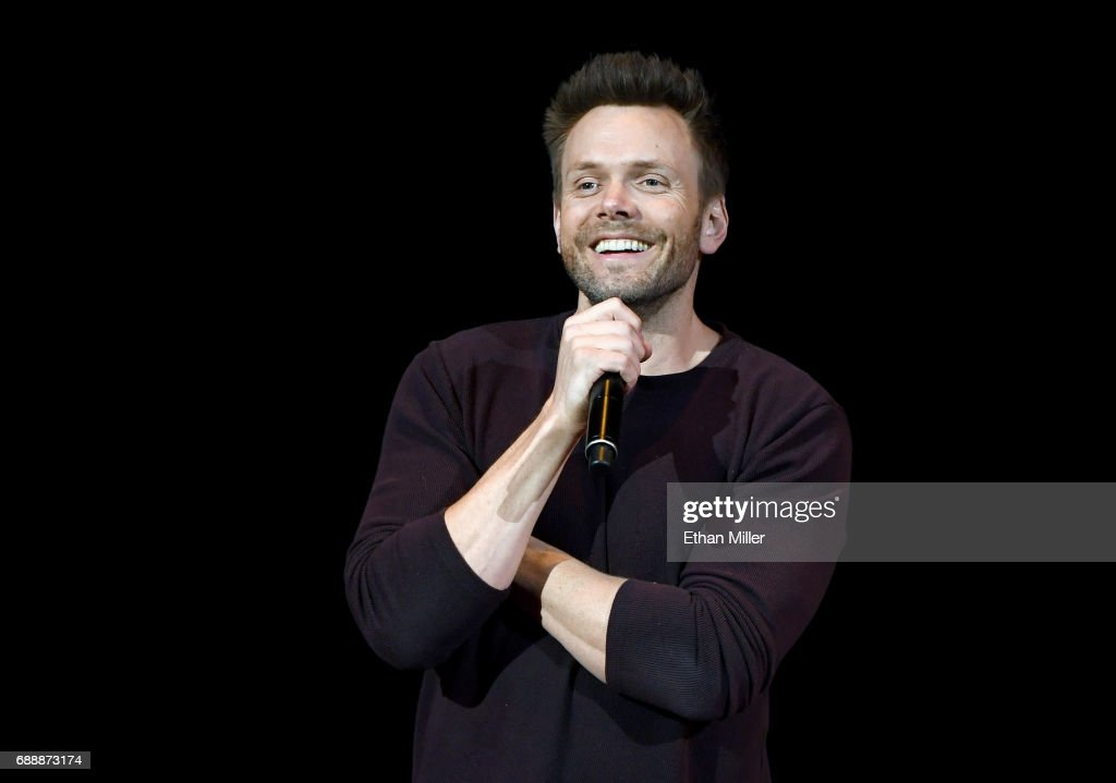 Joel McHale Performs At The Treasure Island In Las Vegas