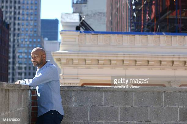 Comedian/actor Keegan Michael Key is photographed for Los Angeles Times on October 10 2016 in New York City