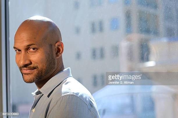 Comedian/actor Keegan Michael Key is photographed for Los Angeles Times on October 10 2016 in New York City PUBLISHED IMAGE