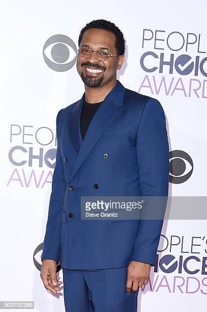 Comedian/actor Mike Epps attends the People's Choice Awards 2016 at Microsoft Theater on January 6 2016 in Los Angeles California
