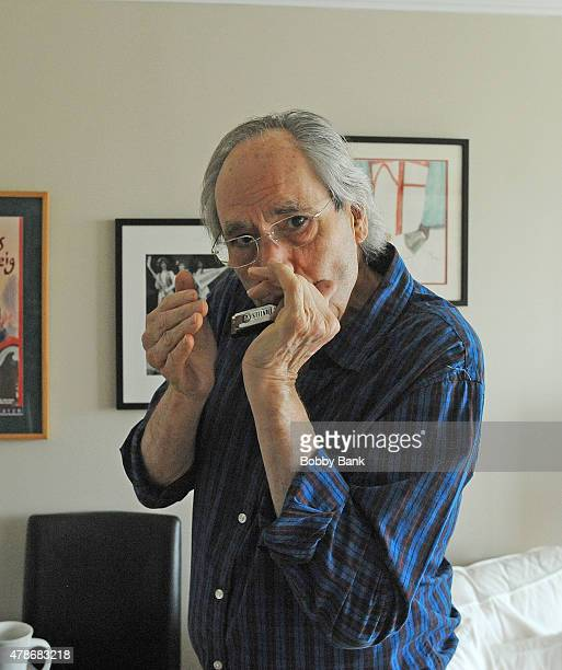 Comedian/actor Robert Klein photo session at Private Residence on June 25, 2015 in New York City.