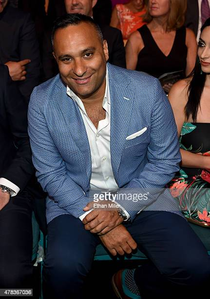 Comedian/actor Russell Peters attends the 2015 NHL Awards at MGM Grand Garden Arena on June 24 2015 in Las Vegas Nevada