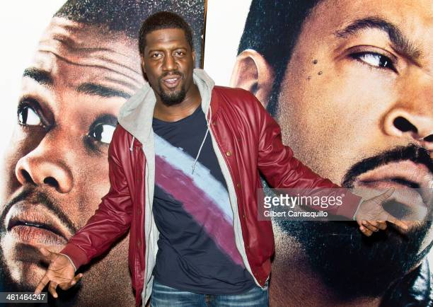 Comedian/actor Will 'SPANK' Horton attends the Ride Along screening at The Pearl Theater on January 8 2014 in Philadelphia Pennsylvania
