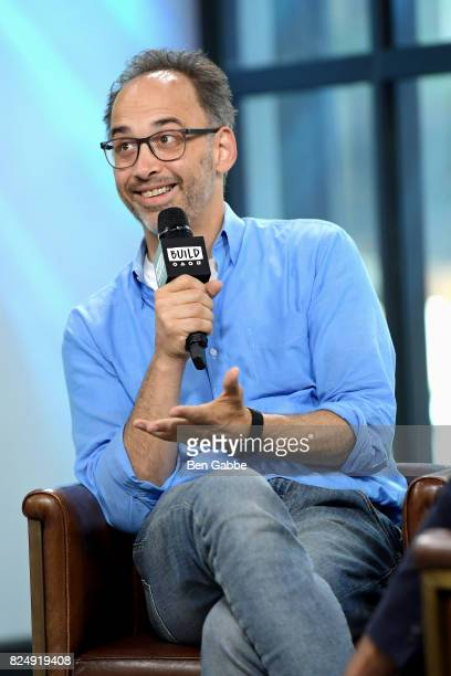 Comedian/actor/director David Wain attends the Build Series to discuss the new show 'Wet Hot American Summer Ten Years Later' at Build Studio on July...