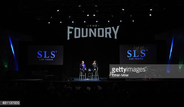 Comedian/actors Jon Lovitz and Dana Carvey perform as they kick off their 20show residency 'Reunited' at The Foundry at SLS Las Vegas on January 6...