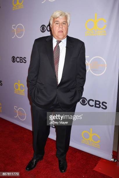 ComedianactorTV host Jay Leno attends the CBS' 'The Carol Burnett Show 50th Anniversary Special' at CBS Televison City on October 4 2017 in Los...