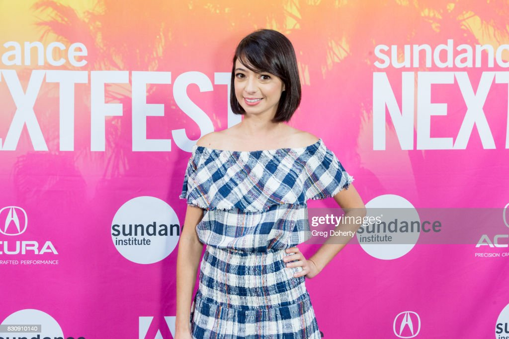 Comedian/Actress Kate Micucci arrives for the 2017 Sundance NEXT FEST at The Theater at The Ace Hotel on August 12, 2017 in Los Angeles, California.