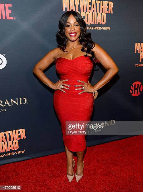 Comedian/actress Niecy Nash attends the SHOWTIME And HBO VIP PreFight Party for 'Mayweather VS Pacquiao' at MGM Grand Hotel Casino on May 2 2015 in...