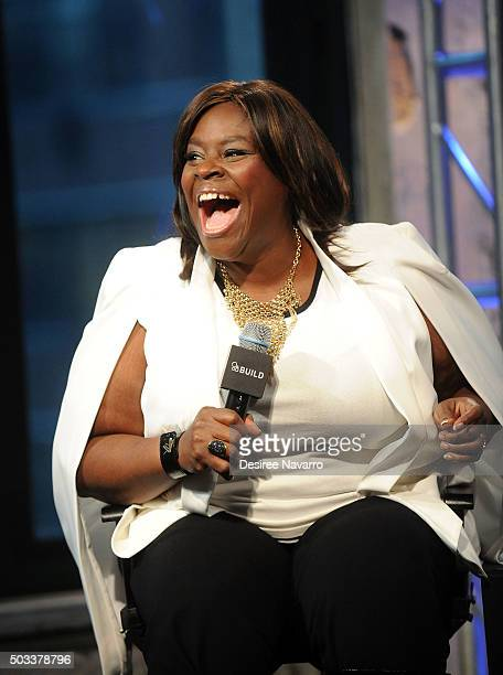 Comedian/actress Retta attends AOL BUILD Series Retta Girlfriends' Guide To Divorce at AOL Studios In New York on January 4 2016 in New York City