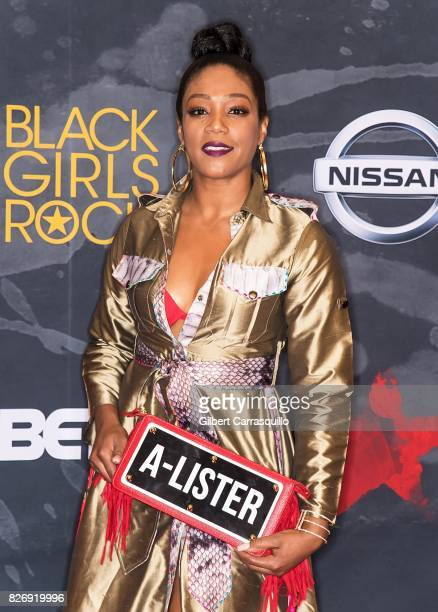 Comedian/actress Tiffany Haddish attends Black Girls Rock 2017 at New Jersey Performing Arts Center on August 5 2017 in Newark New Jersey